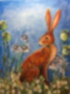Jennifer Steele 'Meadow Hare' JCS1.JPG
