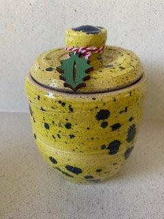 Pansy Storage Jar