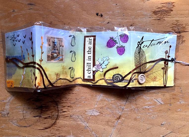 Autumn Accordion Book