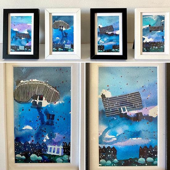 John Devitt Blue Cottage Series 1,2,3,4