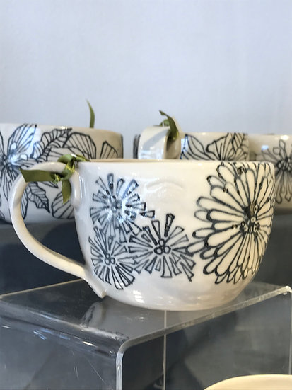Stonewear mug by Niki Bell