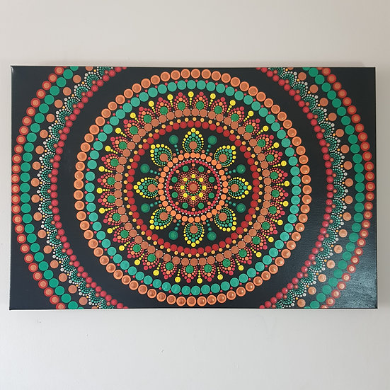 Tribal Burst Mandala