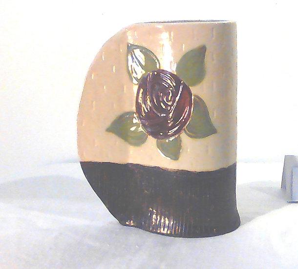 Medium Rose Stoneware Vase
