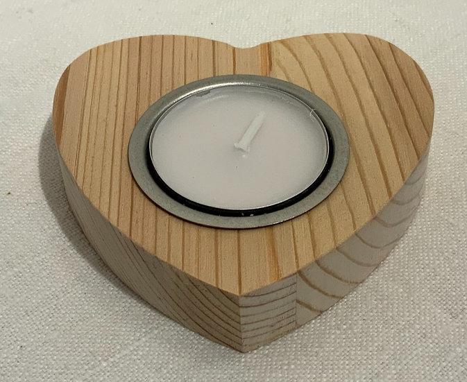 Plain Heart Candle Holder
