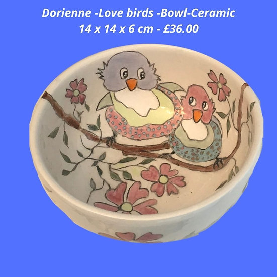 Love birds bowl
