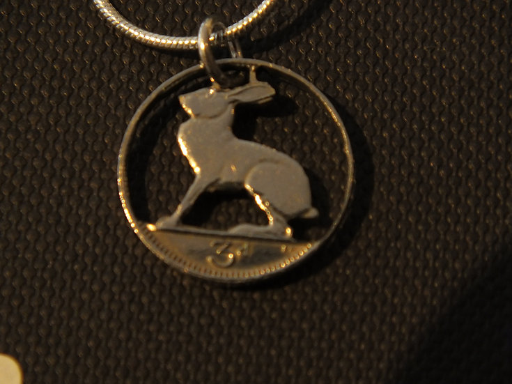 Rabbit Irish 3d Pendant