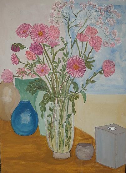 Still Life Flowers Jan Drury