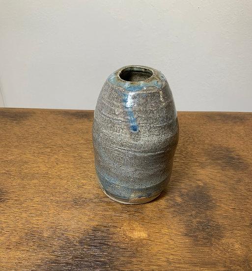 Blue Grey Bottle Vase
