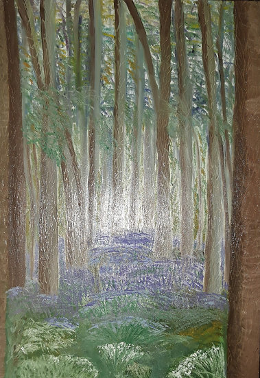 Jan Dury -Bluebell Woods