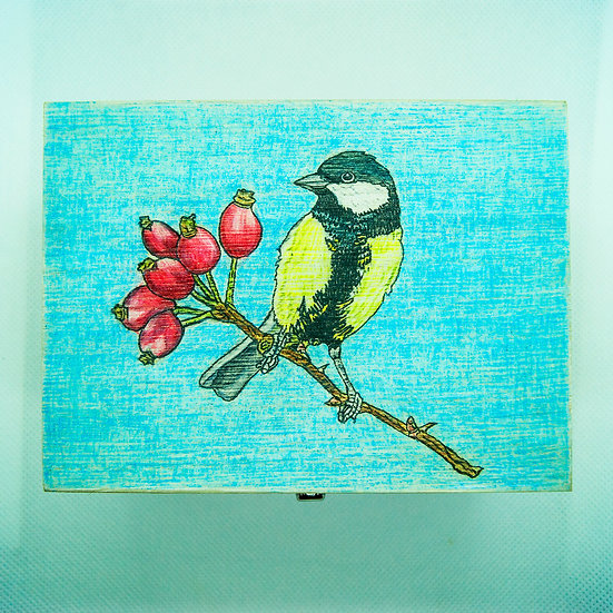 Great Tit By Alison Perkins