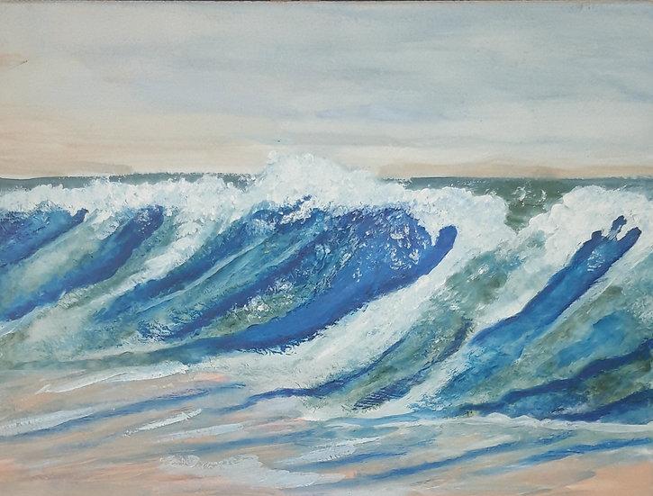 Jan Drury Raging Sea