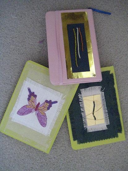Yellow NotebookButterfly