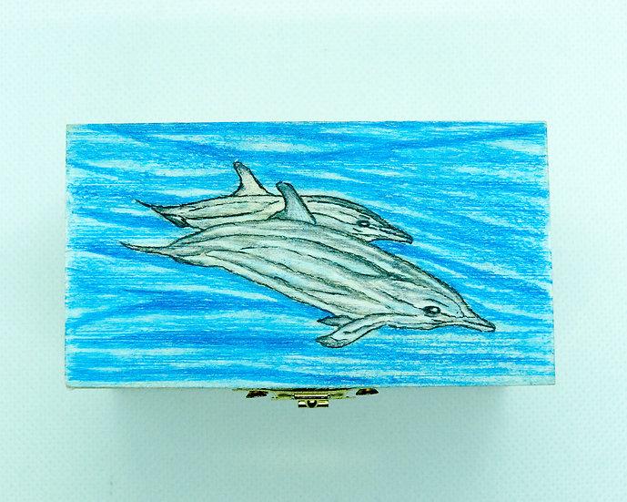 Alison Perkins Dolphin  Box