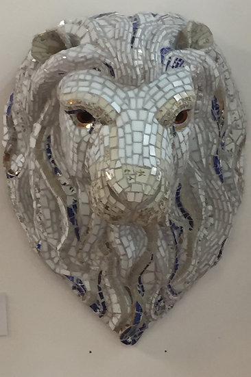 Atlas White Lion Head