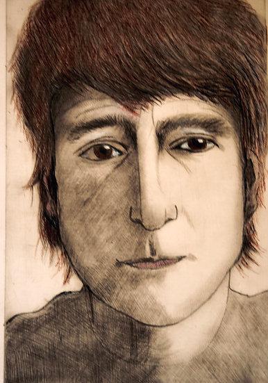 John Lennon in October 1980