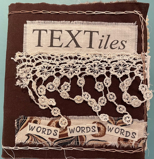 Textile Book Mixed Media