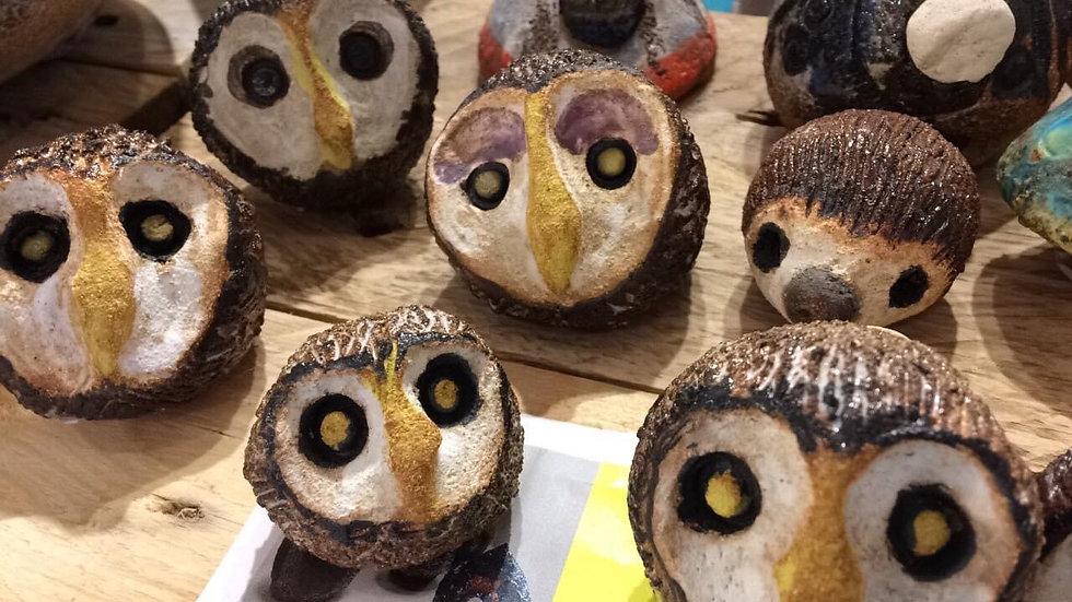 CHEEKY BABY OWL ENJIMONO