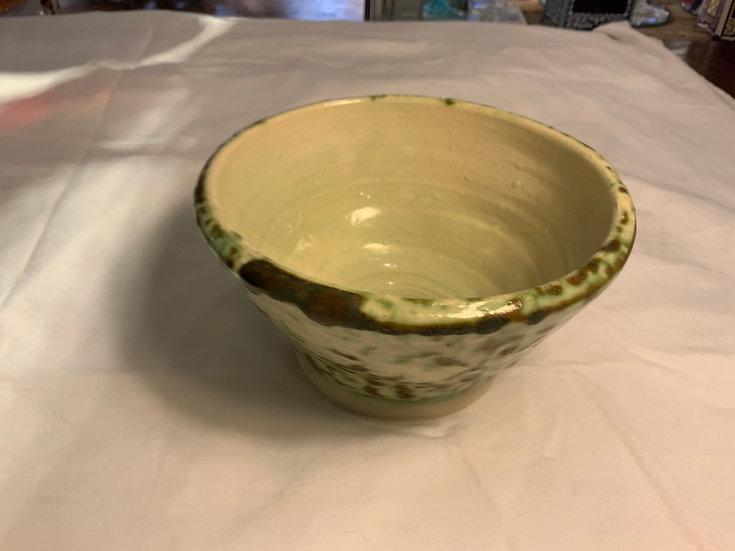 Green Mottled Bowl