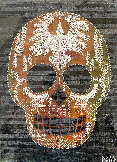 Skull Screen Print