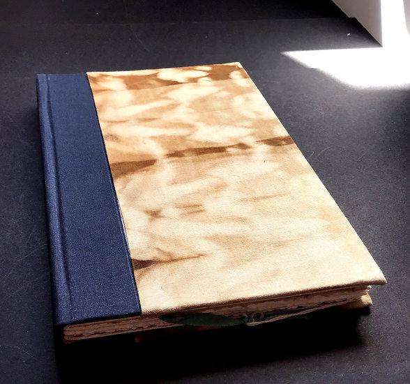 Handmade Sketch Book with Eco Dyed Cover