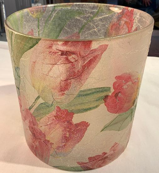 Denise Tebbutt Glass Flower Plant Holder