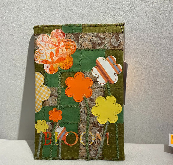 Flowers Notebook with Removable Cover
