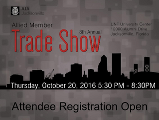 Crawford-Tracey Exhibiting at 2016 AIA Jacksonville Trade Show