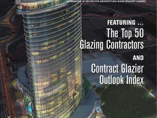 Crawford-Tracey Corporation ranks 45th in USGlass Magazine's Top 50 Glazing Contractors List