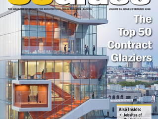 Crawford-Tracey Corporation is #31 is USGlass Magazine's 2018 Top 50 Contract Glaziers