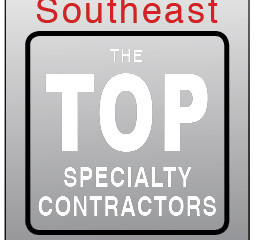 Crawford-Tracey #1 in Glazing/Curtain Wall Sector in ENR Annual Southeast Top Specialty Contractors