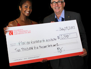 "2017 AIA Florida Raffle Raises over $2,500 for ""Architecture in Education"""