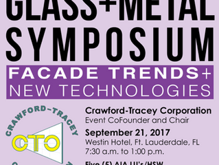 Crawford-Tracey Chairs 2017 Architectural Event in Ft. Lauderdale.