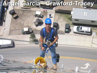 Crawford-Tracey Commends Head Superintendent Angel Garcia for Work Ethic