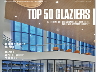 Crawford-Tracey Corporation Ranks 29th in Glass Magazine's 2021 Top 50 Glaziers Report