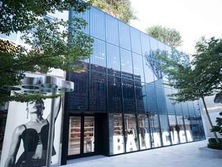 Balenciaga Showcases First Photovoltaic Glass Façade in Miami Design District