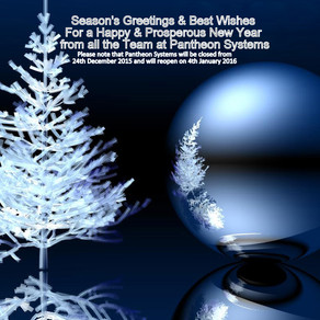 Season'S Greetings from the Team at Pantheon Systems Limited