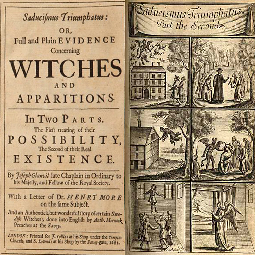 Digital Download eBook Saducismus Triumphatus Witches Ghosts Wicca Witchcraft