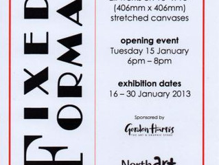 Fixed Format exhibition at Northart