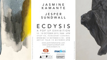 Ecdysis, an exhibition by Jasmine Kamante and Jesper Sundwall