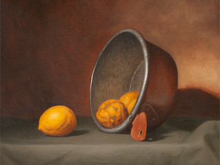 Summer lemons, showing in Artsight Gallery, March 2013