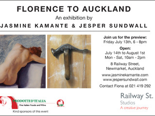 """Exhibition """"Florence to Auckland"""""""