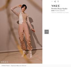 Vogue Italia   'Ephemeral Memories'