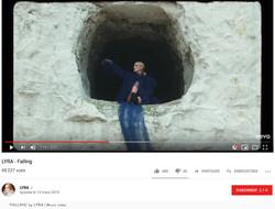 'FALLING' by LYRA   Music video