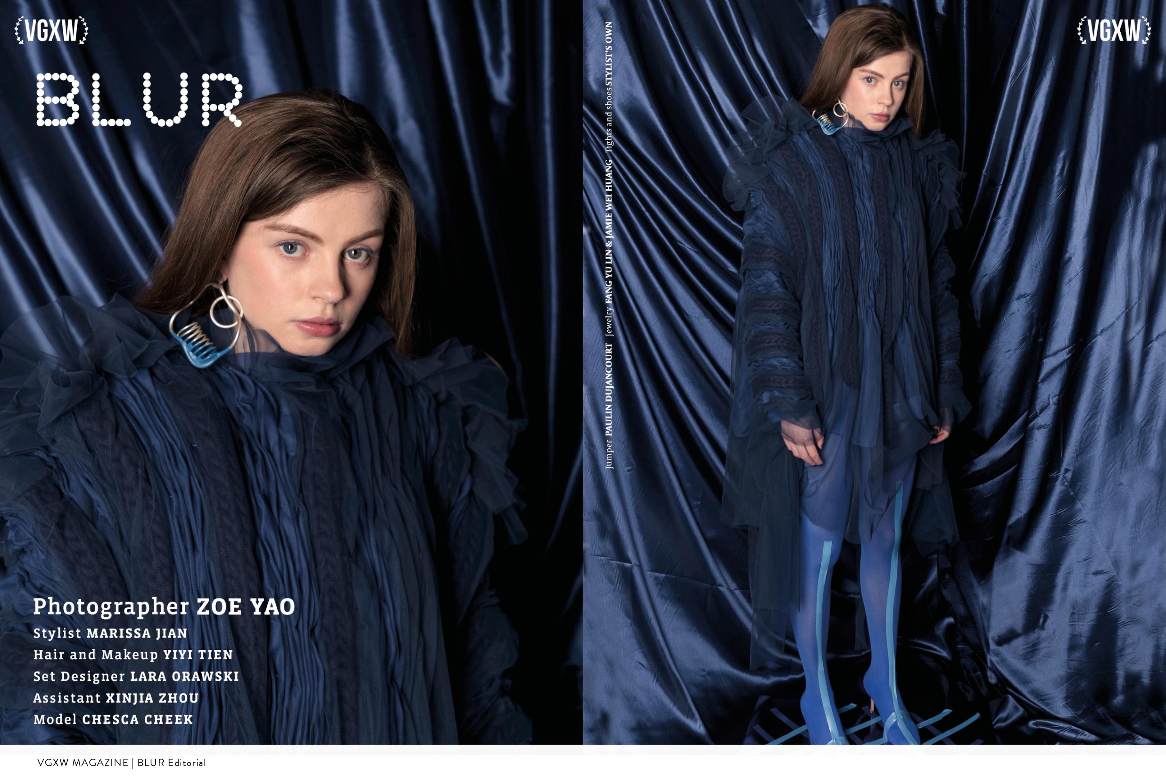 VGXW Magazine | BLUR Editorial