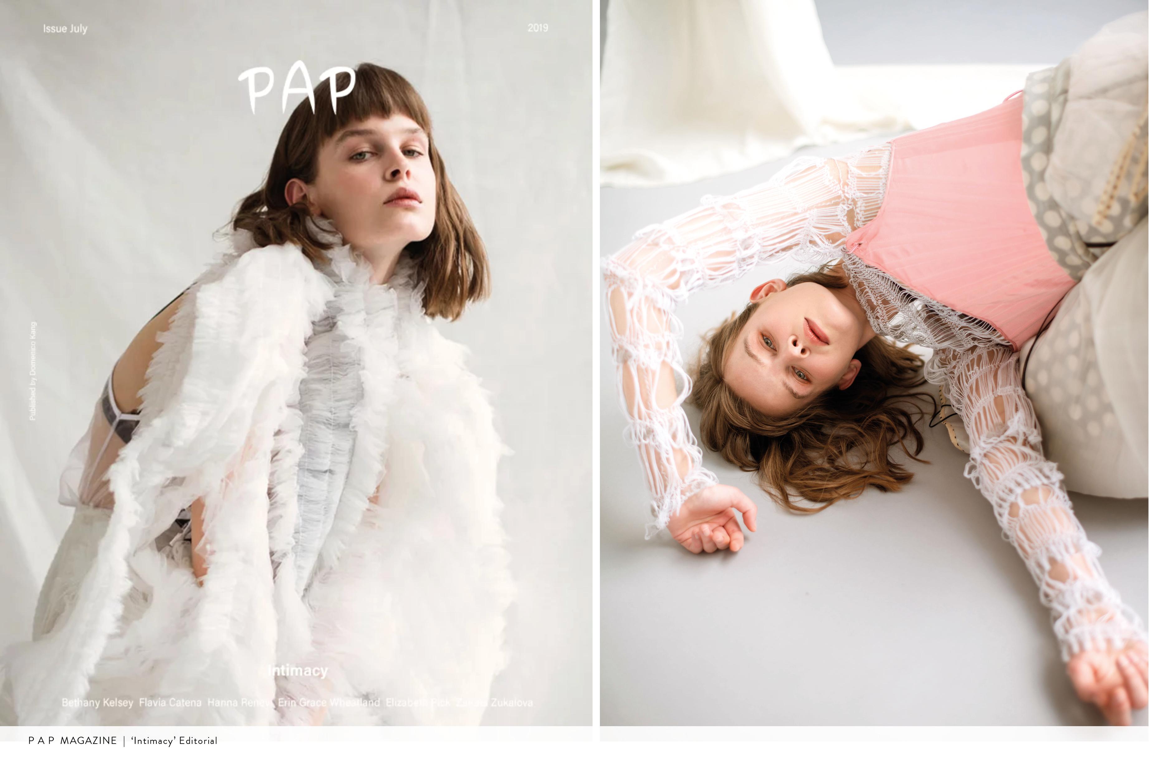 PAP Magazine | 'Intimacy' Editorial