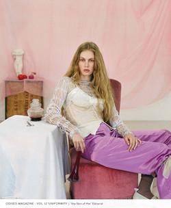 Odiseo Magazine   'the Skin of Her'
