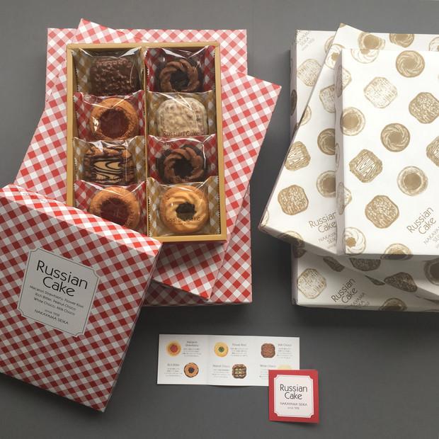 ロシアケーキパッケージ プロポーザル案