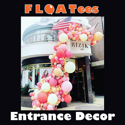 Entrance Decor FLOATEE Entry Fee
