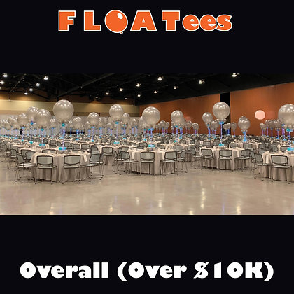 Best Overall Decor (Over $10K) FLOATEE Entry Fee