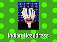 Indian Headdress Balloon Hat - WWHG3 A.j